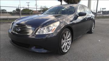 2009 Infiniti G37 Sedan for sale in Hollywood, FL