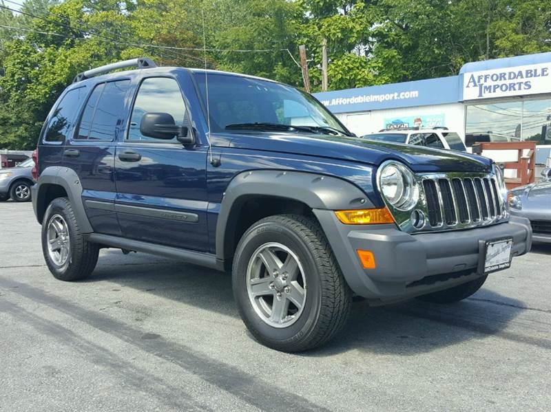 2005 Jeep Liberty Renegade 4wd 4dr Suv In New Hampton Ny