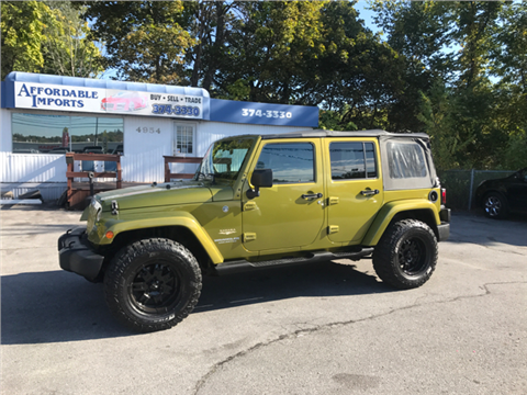 2007 Jeep Wrangler Unlimited for sale in New Hampton, NY