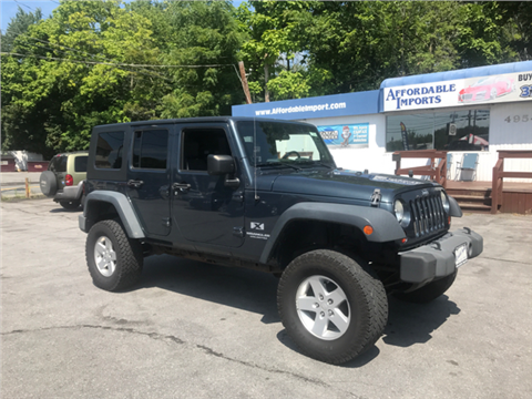 2008 Jeep Wrangler Unlimited for sale in New Hampton, NY