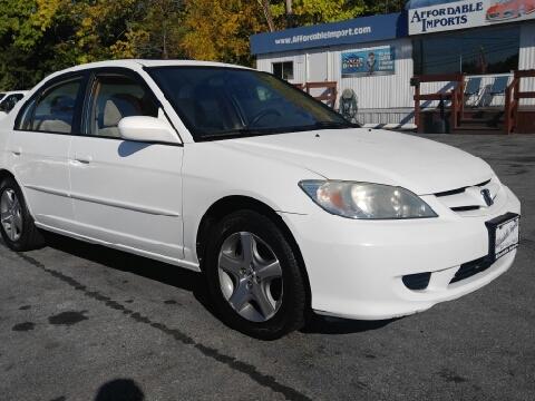 2005 Honda Civic for sale in New Hampton, NY