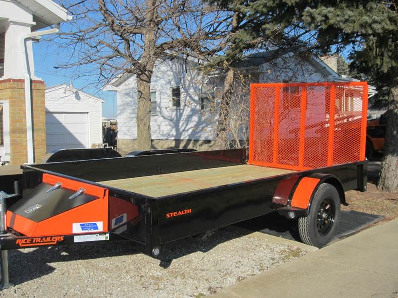 2016 Rice Trailers SST Stealth