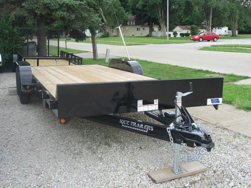 "2016 Rice Trailers 82""x20"" Flatbed"