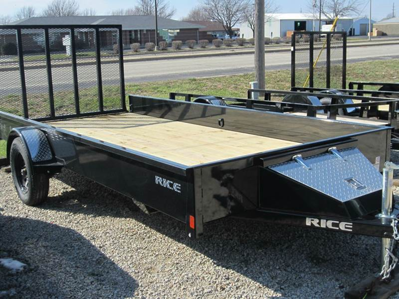 "2017 Rice Trailers Stealth  76""x14'  - Forsyth IL"