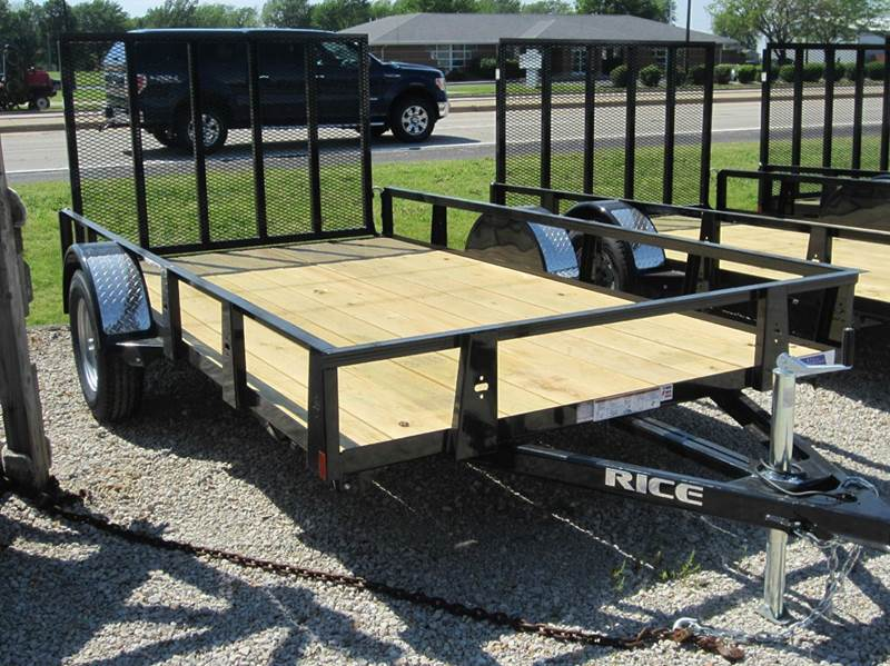 2017 Rice Trailers rs 76x14  - Forsyth IL