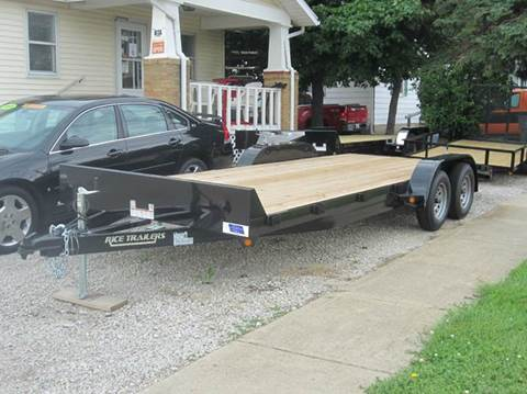 2016 Rice Trailers 82x20 Flatbed