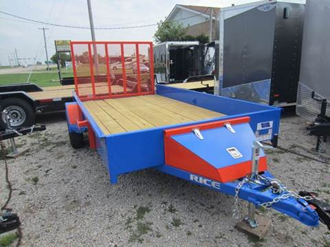 2018 Rice Trailers SST 76X12 for sale in Forsyth, IL