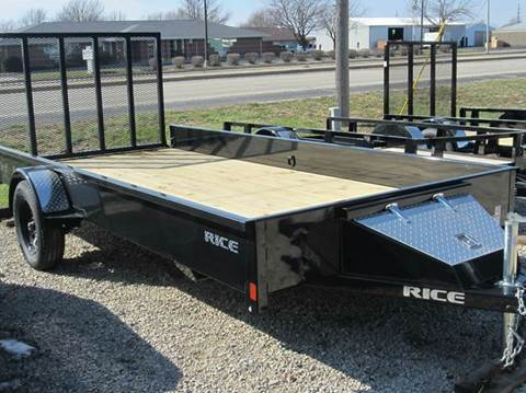 """2017 Rice Trailers Stealth  76""""x14'"""