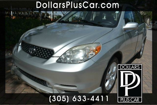 2004 TOYOTA MATRIX BASE FWD 4DR WAGON silver this toyota matrix is the perfect car if youre in th