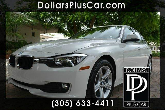 2014 BMW 3 SERIES 320I 4DR SEDAN white dollars plus car truly has the best prices   average marke