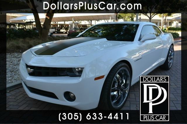 2012 CHEVROLET CAMARO LT 2DR COUPE W1LT white dollars plus car truly has the best prices  market