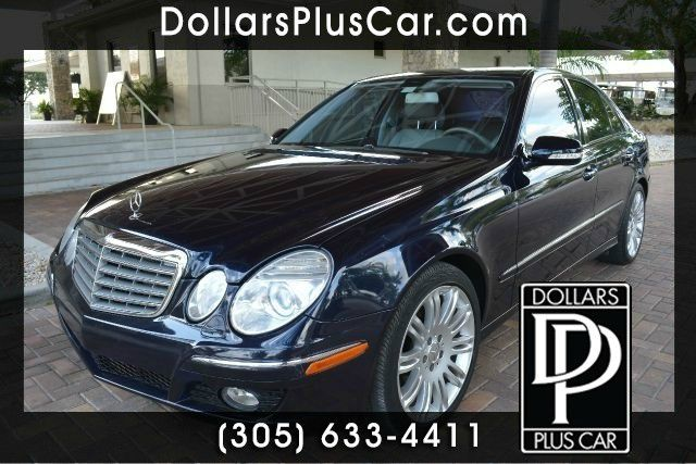 2008 MERCEDES-BENZ E-CLASS E350 4DR SEDAN blue dollars plus car truly has the lowest prices    ou
