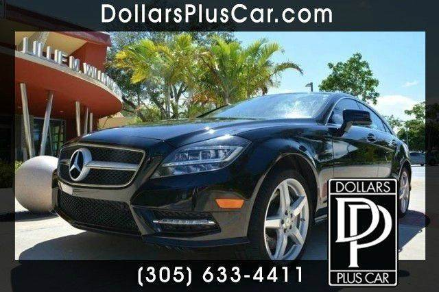 2013 MERCEDES-BENZ CLS-CLASS CLS550 4DR SEDAN black dollars plus car truly has the lowest prices