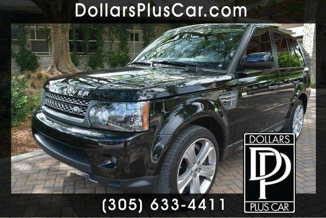 2011 LAND ROVER RANGE ROVER SPORT SUPERCHARGED 4X4 4DR SUV black dollars plus car truly has the be