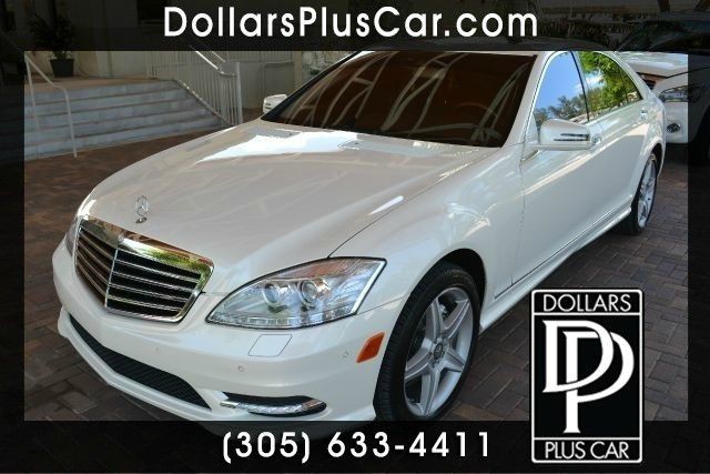 2010 MERCEDES-BENZ S-CLASS S550 4DR SEDAN white dollars plus car truly has the best prices  marke