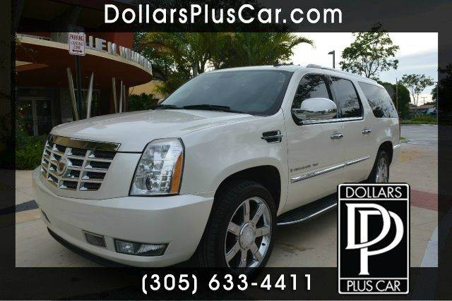 2008 CADILLAC ESCALADE ESV BASE 4DR SUV white dollars plus car truly has the best cars and the be