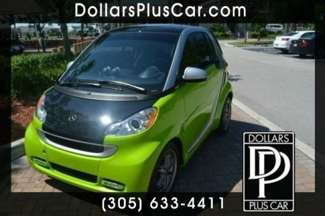 2011 SMART FORTWO PASSION 2DR HATCHBACK green dollars plus car truly has the best prices  market