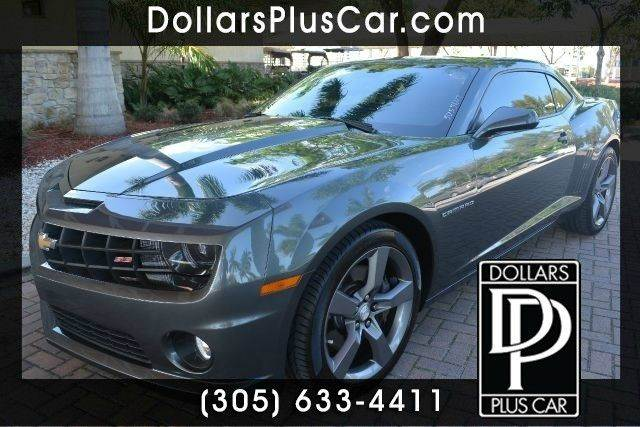 2010 CHEVROLET CAMARO SS 2DR COUPE W2SS gray dollars plus car truly has the best prices  market