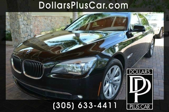 2012 BMW 7 SERIES 740I 4DR SEDAN black dollars plus car truly has the best prices   average mark