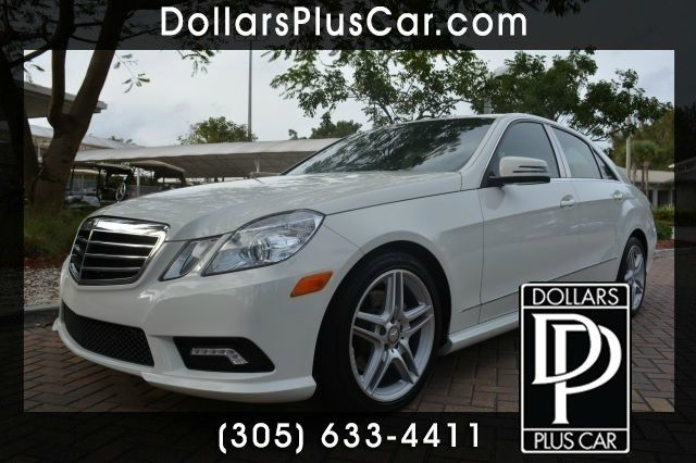 2011 MERCEDES-BENZ E-CLASS E350 SEDAN white dollars plus car truly has the lowest prices     mark