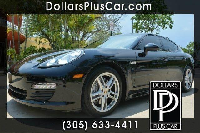 2011 PORSCHE PANAMERA BASE 4DR SEDAN black dollars plus car truly has the best prices   average