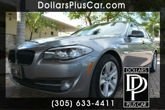 2013 BMW 5 SERIES 528I 4DR SEDAN gray dollars plus car truly has the best prices   average market