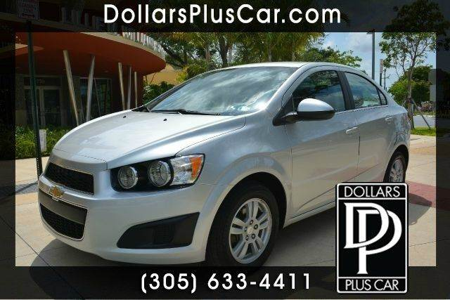 2014 CHEVROLET SONIC LT AUTO 4DR SEDAN W1SD silver dollars plus car truly has the best cars and