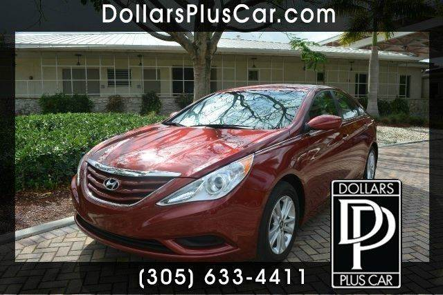 2013 HYUNDAI SONATA GLS 4DR SEDAN red dollars plus car has the best cars and the best prices   m