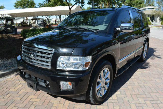 2008 INFINITI QX56 BASE 4DR SUV NOT AVAIL AFTER OC black dollars plus car truly has the best pric