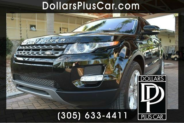 2013 LAND ROVER RANGE ROVER EVOQUE PURE PLUS AWD 4DR SUV black dollars plus car truly has the best