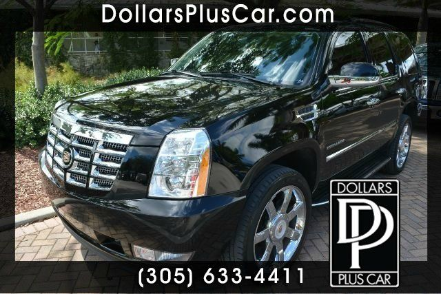 2013 CADILLAC ESCALADE LUXURY 4DR SUV black dollars plus car truly has the best prices     retail