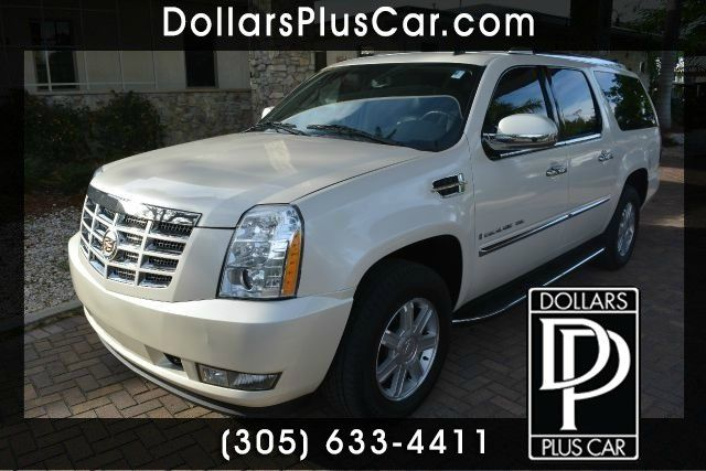 2009 CADILLAC ESCALADE BASE 4DR SUV white dollars plus car truly has the best prices     retail v