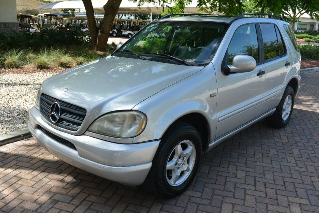 2001 MERCEDES-BENZ M-CLASS ML320 AWD 4MATIC 4DR SUV silver abs - 4-wheel alloy wheels anti-theft