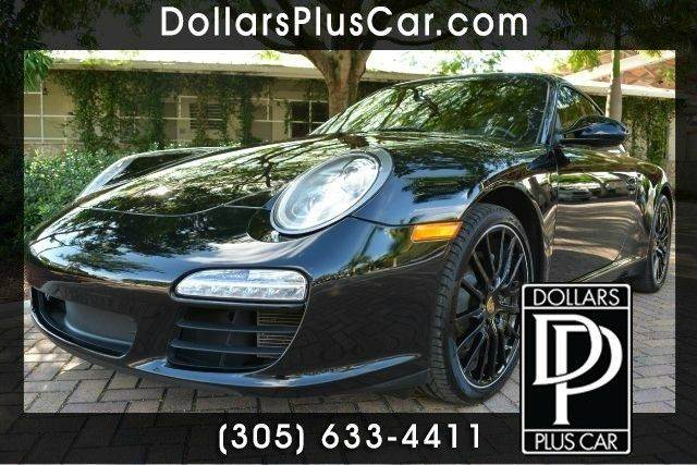 2012 PORSCHE 911 CARRERA 2DR COUPE black dollars plus car truly has the best prices   average mar