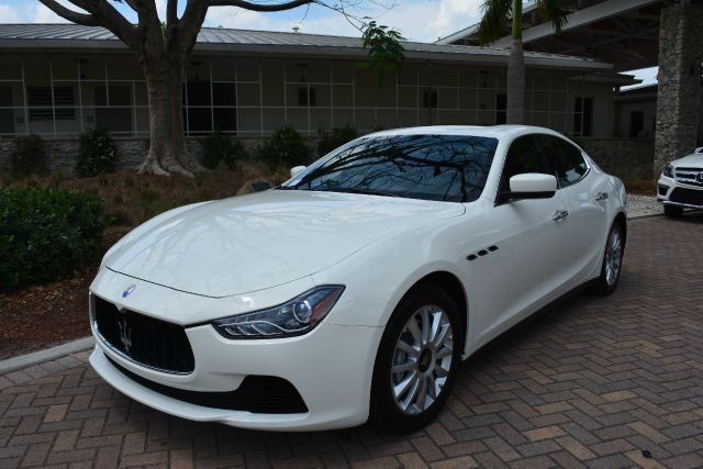 2014 MASERATI GHIBLI BASE 4DR white dollars plus car truly has the best prices   average market