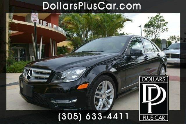 2013 MERCEDES-BENZ C-CLASS C250 LUXURY 4DR SEDAN black dollars plus car has the best prices and t