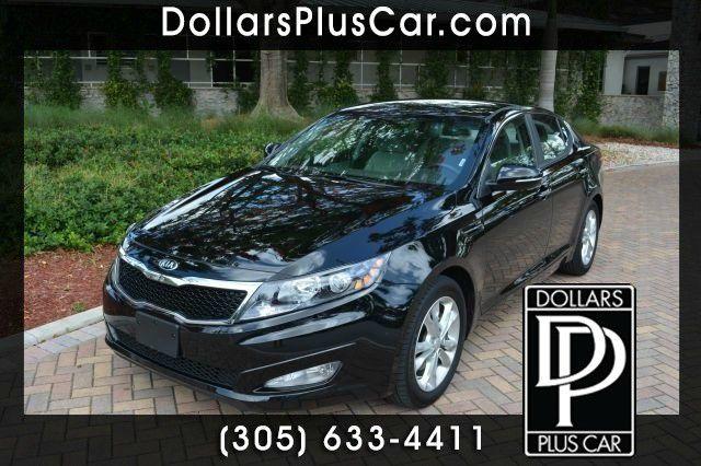 2013 KIA OPTIMA LX 4DR SEDAN black dollars plus car truly has the lowest prices   market price fo
