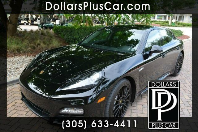 2012 PORSCHE PANAMERA 4S AWD 4DR SEDAN black dollars plus car truly has the best prices   average