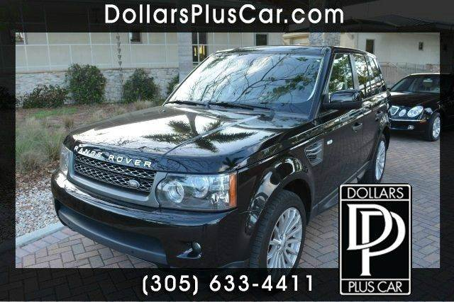 2011 LAND ROVER RANGE ROVER SPORT HSE 4X4 4DR SUV black dollars plus car truly has the best price