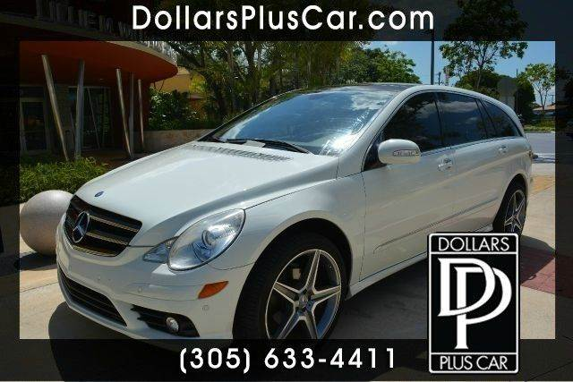 2010 MERCEDES-BENZ R-CLASS R350 AWD 4MATIC 4DR WAGON white dollars plus car has the best prices a