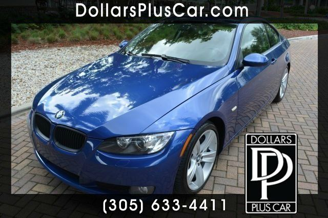 2007 BMW 3 SERIES 335I 2DR COUPE blue this vehicle is a thing of beauty the german engineered bmw