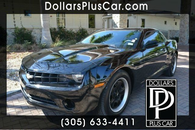 2012 CHEVROLET CAMARO LS 2DR COUPE W2LS black dollars plus car truly has the best prices  market