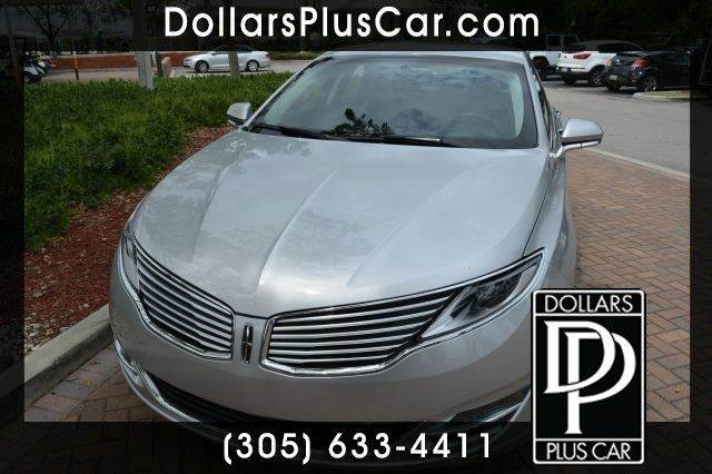 2013 LINCOLN MKZ FWD silver dollars plus car truly has the best prices   average market price fo