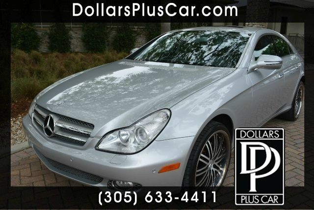2010 MERCEDES-BENZ CLS-CLASS CLS550 4DR SEDAN silver dollars plus car truly has the lowest prices