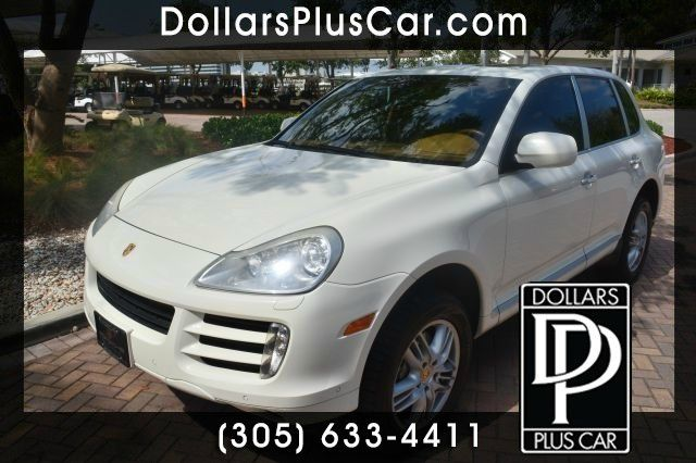 2008 PORSCHE CAYENNE S white dollars plus car truly has the best prices    market price for this