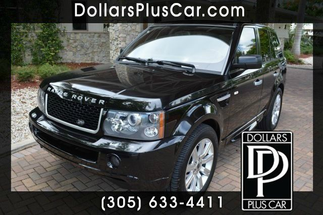 2009 LAND ROVER RANGE ROVER SPORT HSE 4X4 4DR SUV black dollars plus car truly has the best prices