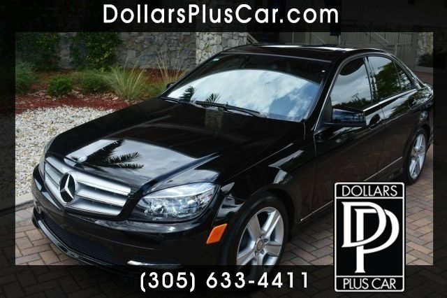 2011 MERCEDES-BENZ C-CLASS C300 LUXURY SEDAN black dollars plus car truly has the lowest prices
