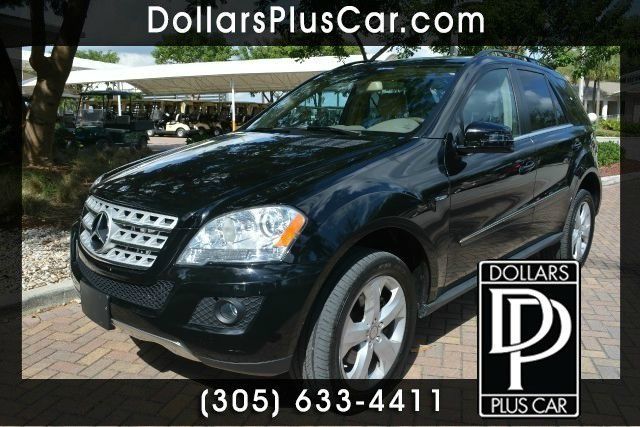 2011 MERCEDES-BENZ M-CLASS ML350 BLUETEC AWD 4MATIC 4DR SUV black dollars plus car truly has the b