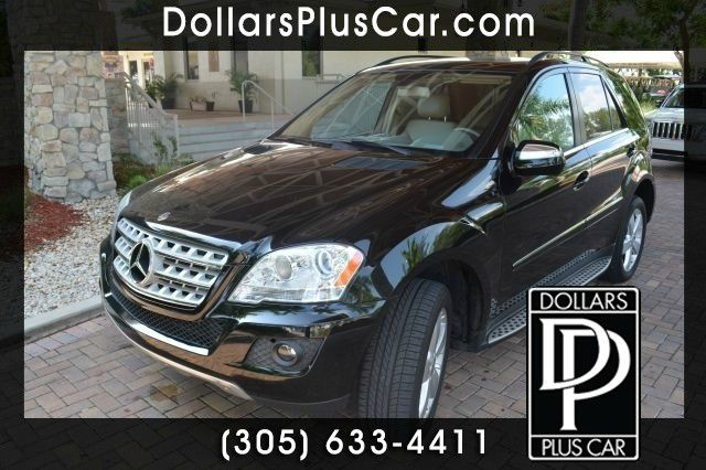 2010 MERCEDES-BENZ M-CLASS ML350 4DR SUV black dollars plus car truly has the best prices     mar