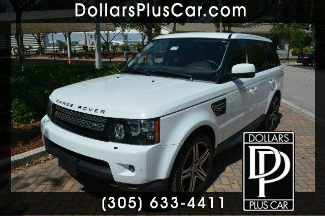 2012 LAND ROVER RANGE ROVER SPORT HSE LUX 4X4 4DR SUV white dollars plus car truly has the best p